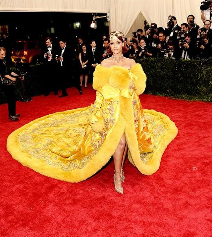 Rihanna Met Gala Guo Pei gown