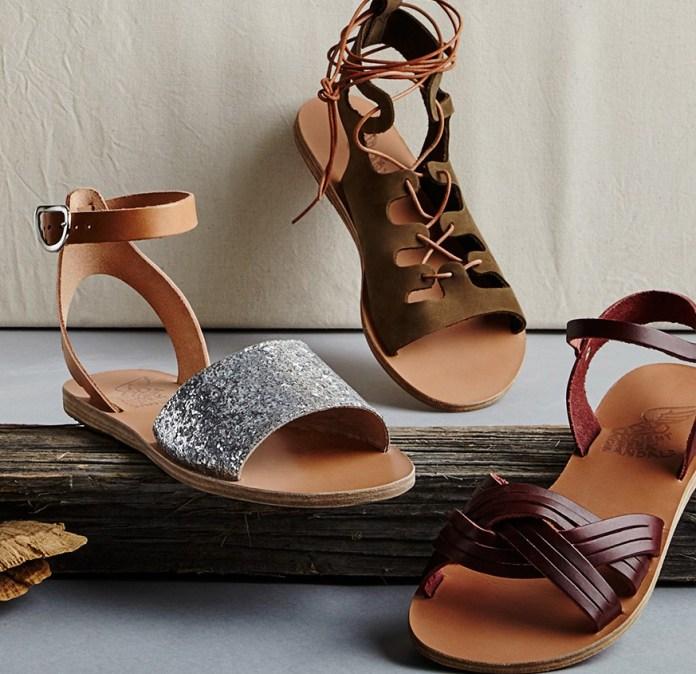 Ancient Greek Sandals Thalpori sandals Electra Sandals