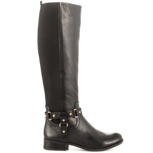 Jessica Simpson Reade black knee high boots miling Goat leather