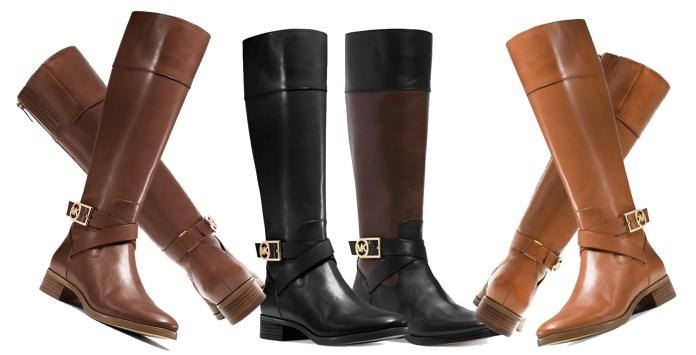 MICHAEL Michael Kors Bryce Boots luggage black mocha black mocha