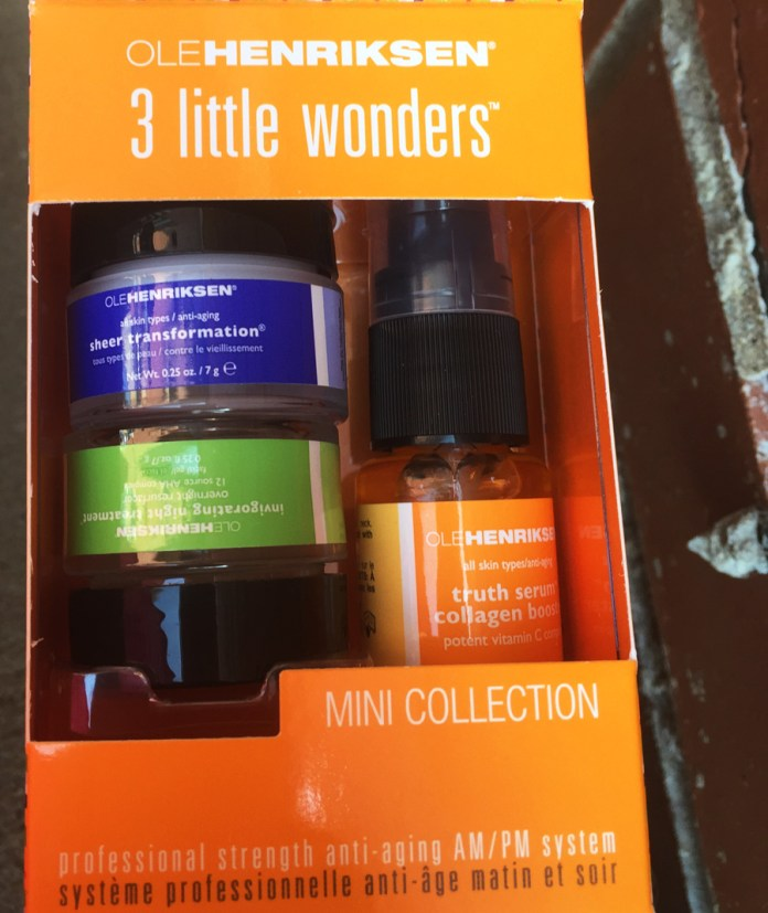 Ole Henriksen 3 little wonders mini collection