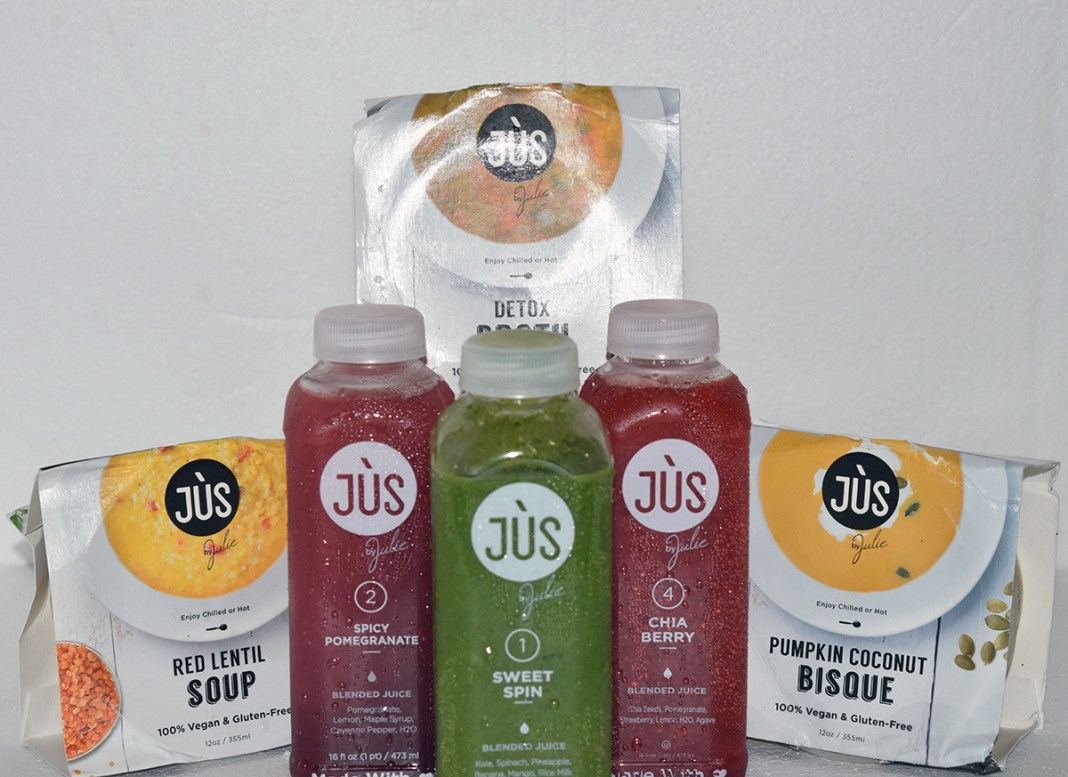 jus by julie jus soup 3 day cleanse