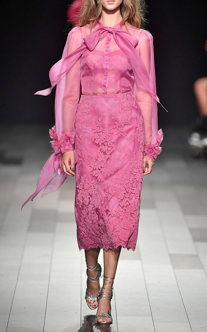 Marchesa New York Fashion Week Spring Summer 2018 NY September 2017 - Marchesa SS18 collection