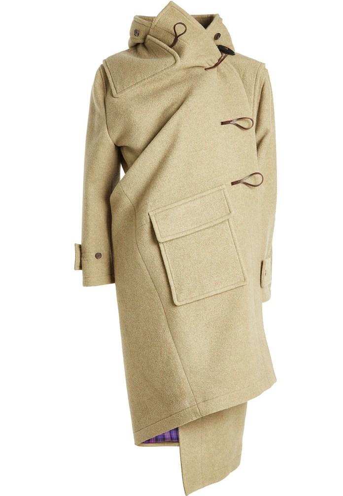 Balenciaga asymmetric coat Cashmere Duffle Coat