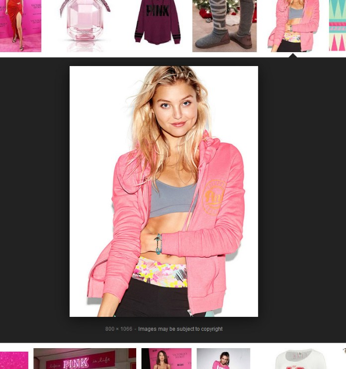 too old to wear pink victorias secret
