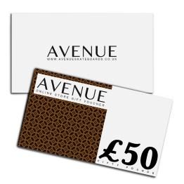 £50 Avenue Gift Voucher Webstore