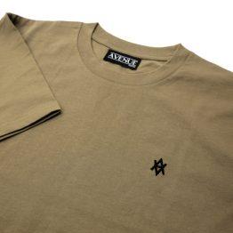 Avenue Coffee/Black Core Logo T-Shirt
