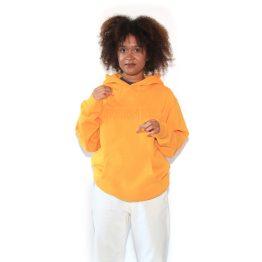 Outsider Hooded Sweatshirt Gold