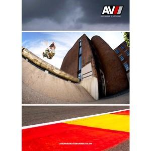 Vague Skateboard Magazine Issue 13 Avenue Advert