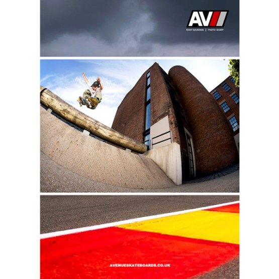 Vague Skateboard Magazine Issue 13 Avenue Advert