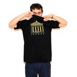 Milan Harmony Black T-Shirt