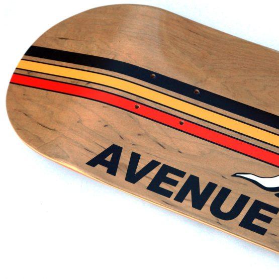 """Avenue Knockout 8.75"""" Dark Stain Deck"""