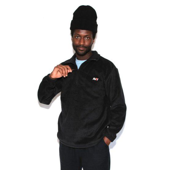Rockwilder Fleece Black Val Beanie Man