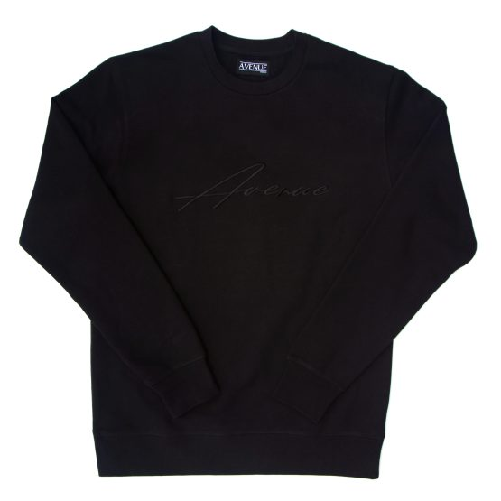 Avenue The Source Crewneck Black