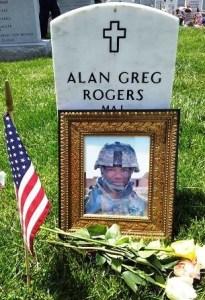 Maj Rogers gravesite