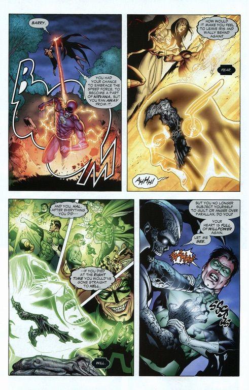 Martian Manhunter mind raped Green Lantern