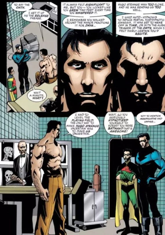 Even batman can't win against Martian Manhunter's telepathy