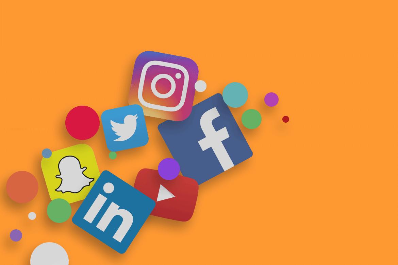 Social Media Logos | Average Giant Marketing | Social Media Agency