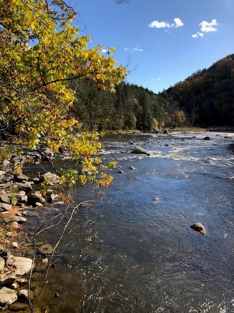 Housatonic River on the Appalachian Trail