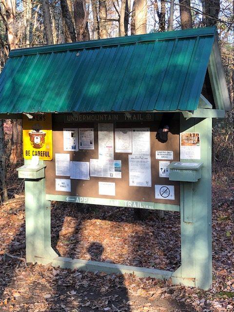 Undermountain Trail Kiosk
