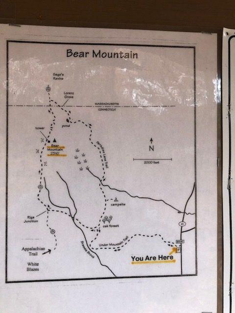 Undermountain Trail Map