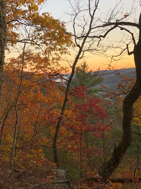 Sunrise on the Appalachian Trail