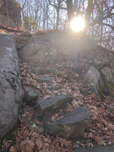 Tough New York Trail on the AT