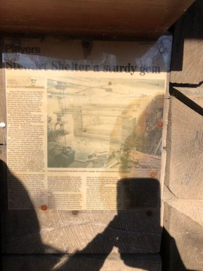 Morgan Stewart Shelter History