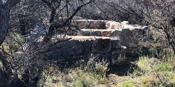 CCC Construction Near Colosal Cave Park