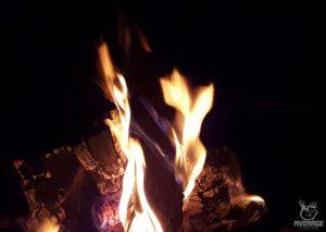 campfire average hunter matt staser camping