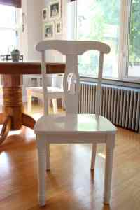 Stenciled Chair Seats - A Thrifty and Fun Kitchen Chair ...