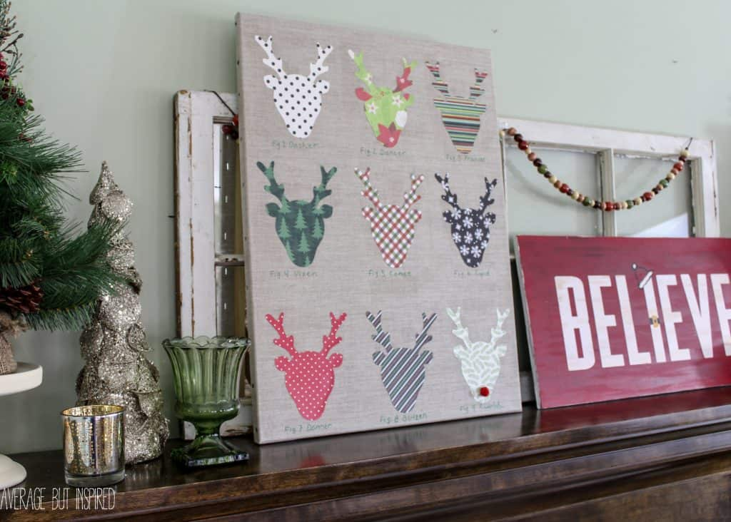 27 DIY Christmas Reindeer Decor Ideas That Will Make You Cheer ...