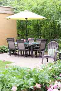 My Urban Backyard Patio {Garden Tour Blog Hop}