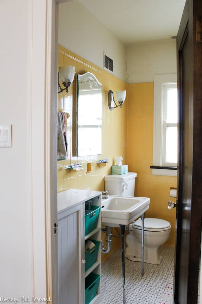 1920s Bathroom Renovation Our True To Period Remodel Average But Inspired
