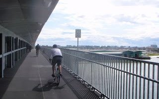 """Response to my Post on """"Cycling around the Richmond Trail … and Surviving"""""""