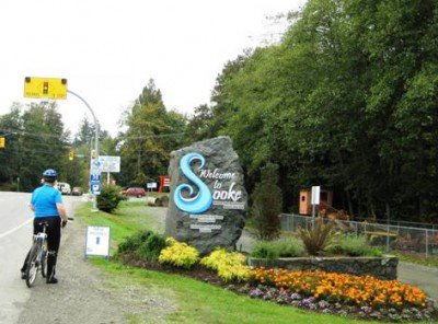 Welcome to cycling in Sooke