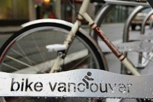 One of Paul Krueger's great photos, taken on the new Hornby route - central to Vancouver cycling
