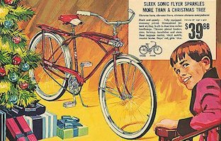 Christmas and Bicycles