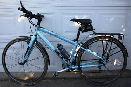 Guide to Bike Terms. Are you buying a new or used bike, and confused by all the bike terms ? Our guide to bike terms will empower you when shopping for a bike. The classic Trek 7.5 FX WSD is a good example of a woman specific bike