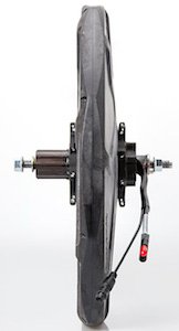 The BionX Electric Bike Kit features a Hub Motor in the rear wheel