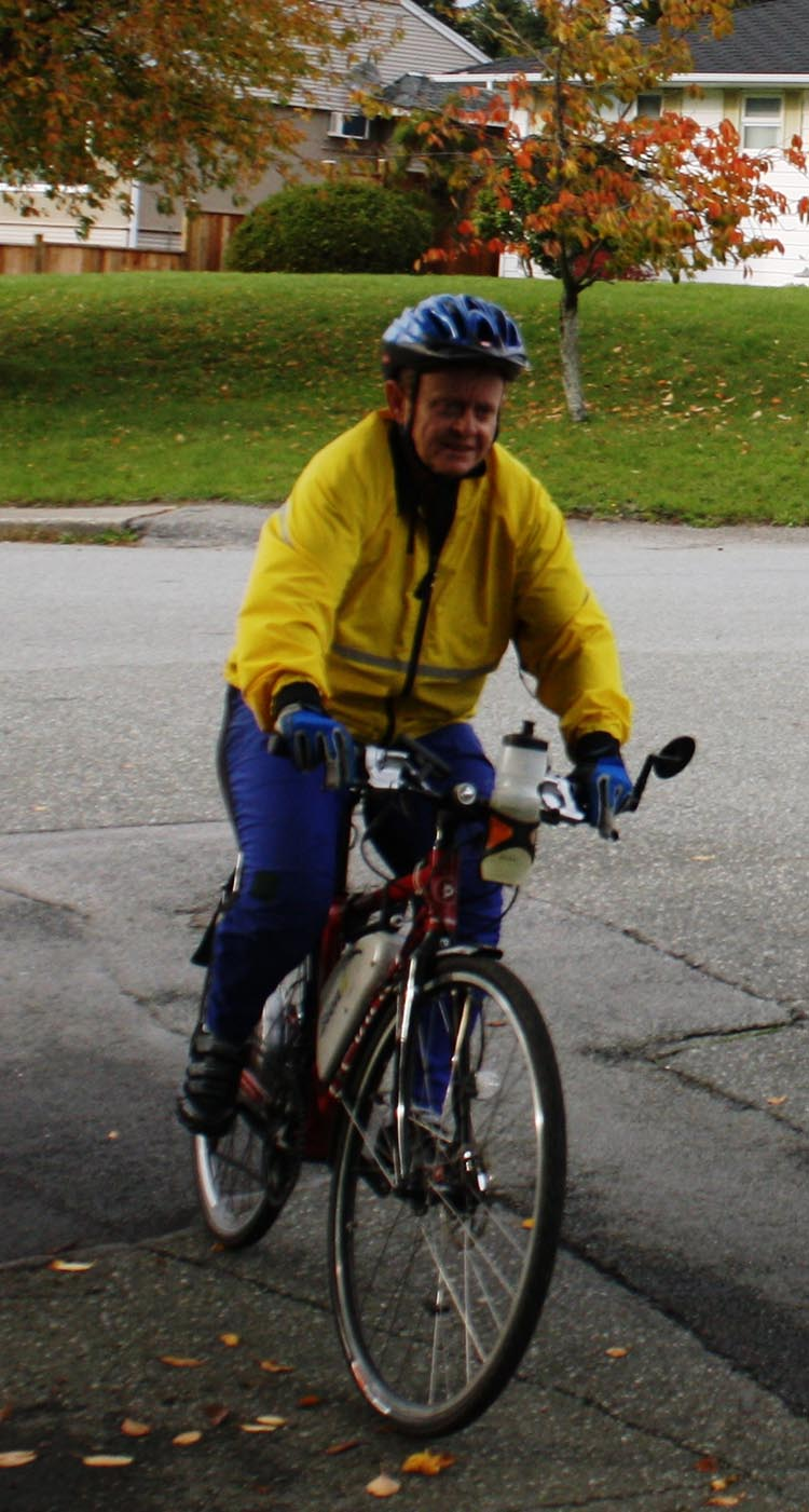 What It Feels Like To Commute Work On A Bionx Pl 350 Electric Bike Police Roadbike Toronto Greey Blue At Six In The Morning I Set Out My Robust Devinci Sidney With Powerful