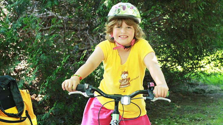 Joe and I have five kids and three grandchildren between us! We try to share our love of cycling with them. How to Help your Kids Bike to School