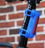 How to set up a commuter bike. I like the blue Serfas Thunderbolt taillight the most