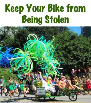 Keep Your Bike from Being Stolen