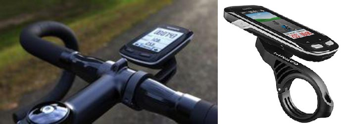 Garmin Edge Touring Navigator GPS Bike Computer Review. Carry your bike computer right in front using the Garmin out front mount, so it is easy and safe to look at. Garmin Edge Touring Navigator GPS Bike Computer Review
