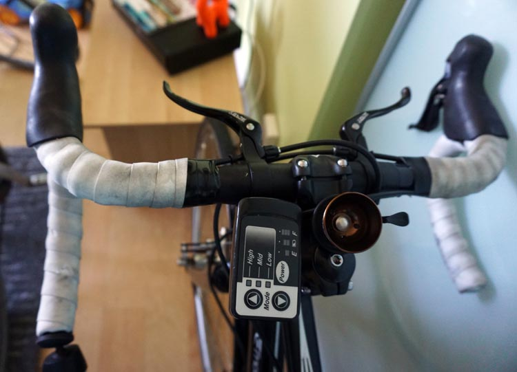 Panasonic BH Race bike electric bike consol