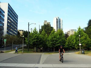 Seaside Bike Route Vancouver