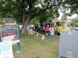Seaside Greenway Food trucks at Party - Average Joe Cyclist