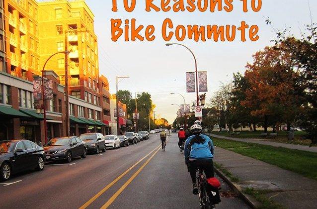 10 reasons to bike commute