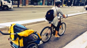 Vancouver Bike Routes – No Lack of Parking on Hornby Street – So Why are Businesses Complaining?